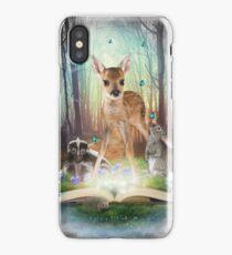 Believe In Magic • (Forest Friends: Bambi / Thumper / Flower) iPhone Case