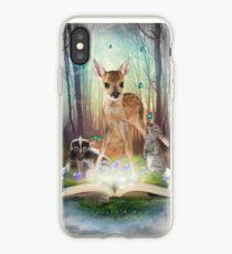 Vinilo o funda para iPhone Believe In Magic • (Amigos del bosque: Bambi / Thumper / Flower)