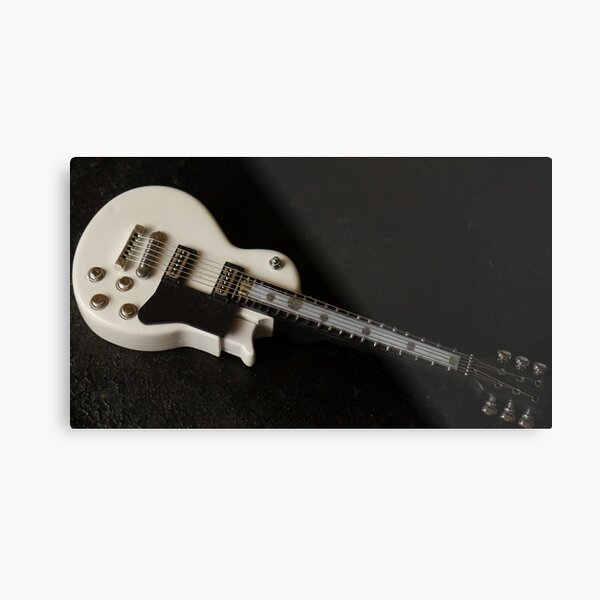 Toy Guitar for the Music Lover Metal Print