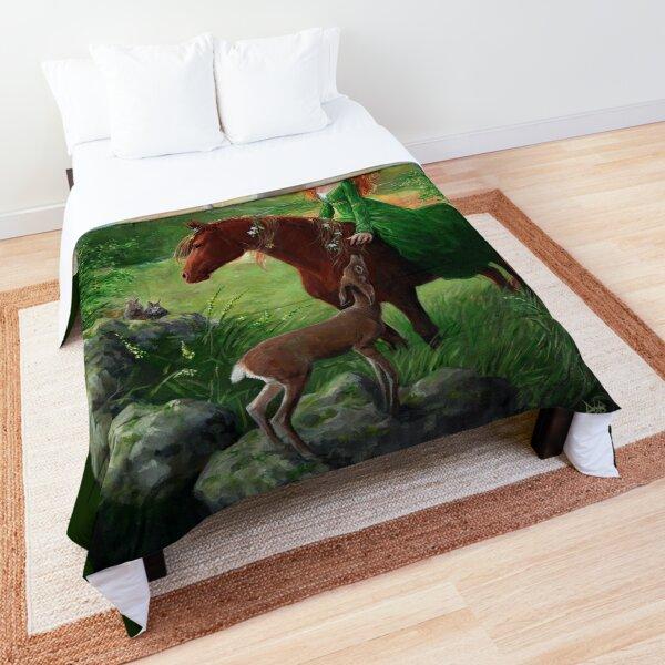 Aine, Queen of the Faeries  Comforter