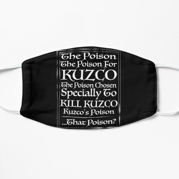 Emperor's New Groove - Kuzco's Poison BLACK Mask