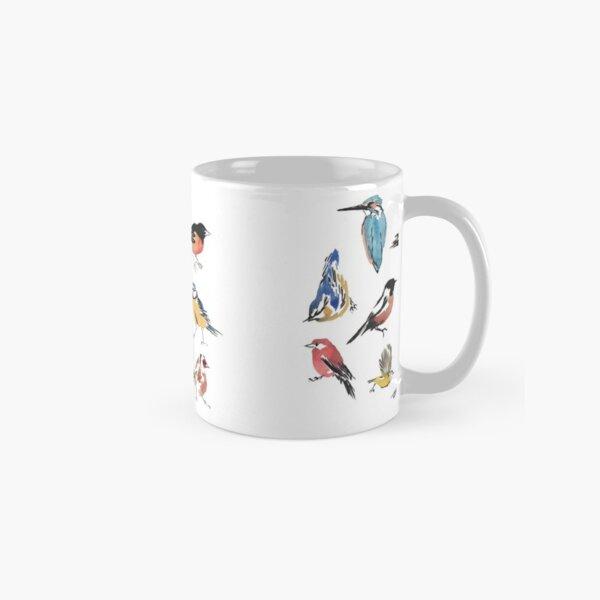 Oiseaux multicolores  Mug classique
