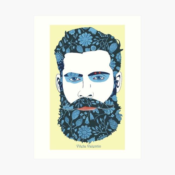 Beard Power Art Print
