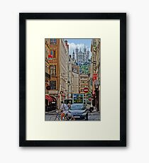 Iconic Lyon (in camera HDR - Sony RX100) Framed Print