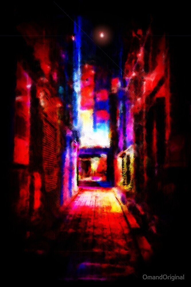 Neon Nights by OmandOriginal