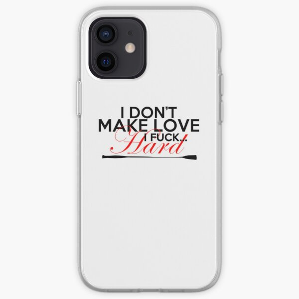 I don't make love iPhone Soft Case
