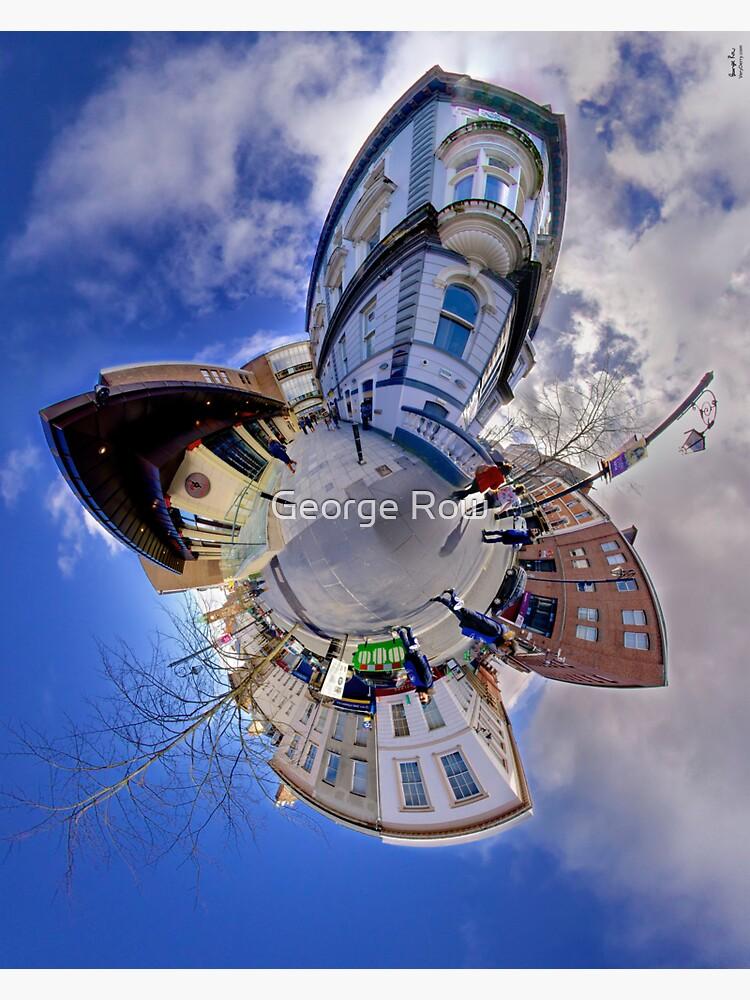 Shipquay Street Panorama - Spring 2014 by VeryIreland