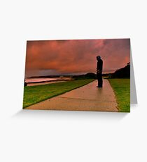 """""""Amid The Storms Of Life"""" Greeting Card"""