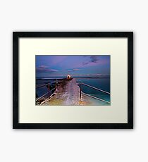 Pumphouse, Merewether Ocean Baths #2 Framed Print