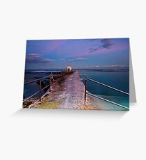 Pumphouse, Merewether Ocean Baths #2 Greeting Card