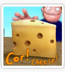 Cor! Cheese Sticker