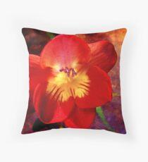 Riotous Spring Throw Pillow