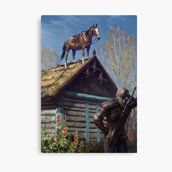 Witcher 3 Roach Canvas Print
