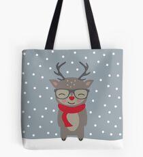 Merry Christmas Deer Tote Bag