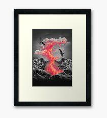 Burn Brighter In the Dark  Framed Print