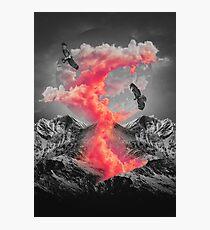 Burn Brighter In the Dark  Photographic Print