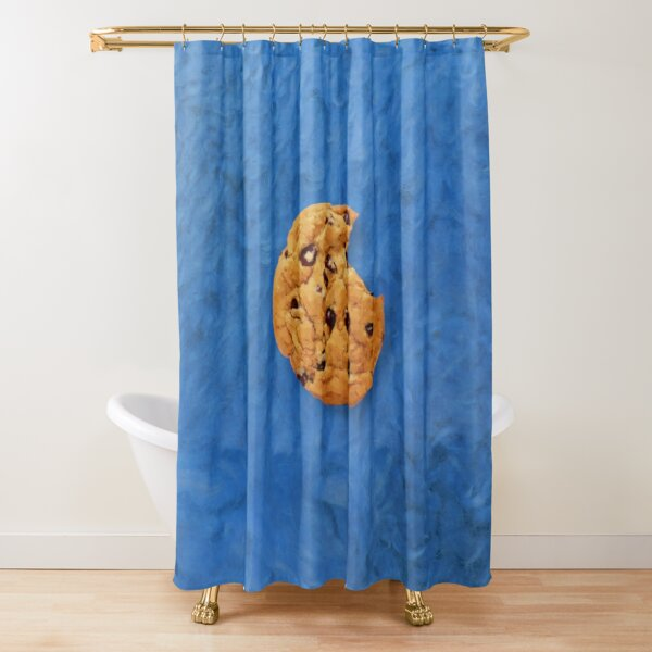 The Cookie Monster Shower Curtain