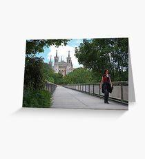Lyon Basilica: Basilique Notre-Dame de Fourviere, France Greeting Card