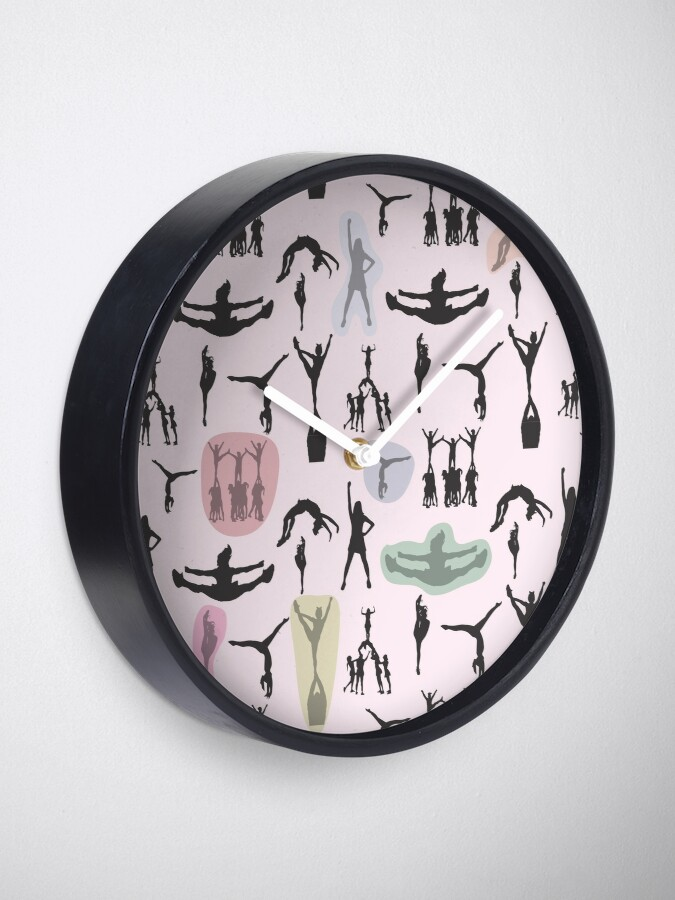Alternate view of Cheerleader Chance Clock