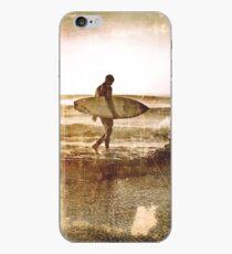 Vintage Surfer iPhone Case