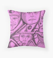 another impresion Throw Pillow