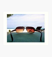 Tropical Viewpoint Art Print