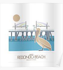 Beach Cities. Redondo Beach Poster