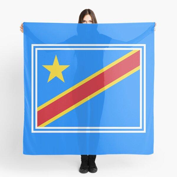 Pañuelos Bandera De La República Democrática Del Congo Redbubble