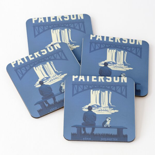 Paterson poster Coasters (Set of 4)