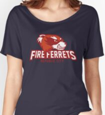 Republic City Fire Ferrets Women's Relaxed Fit T-Shirt