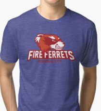 Republic City Fire Ferrets Tri-blend T-Shirt