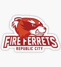 Republic City Fire Ferrets Sticker