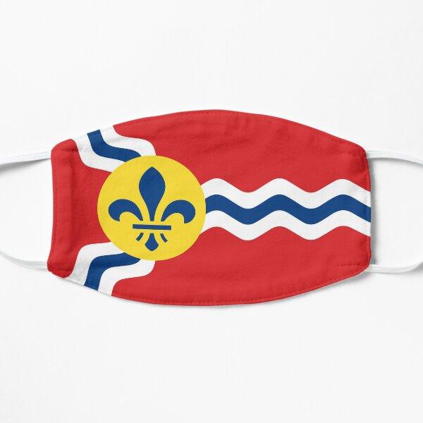 St. Louis Flag Flat Mask