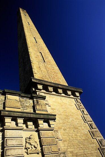 Salt's Mill Chimney by Simon Bowen