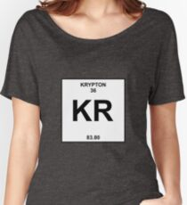 Krypton Periodic Table Women's Relaxed Fit T-Shirt