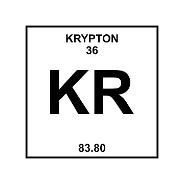 Krypton Periodic Table by LadyCyprus