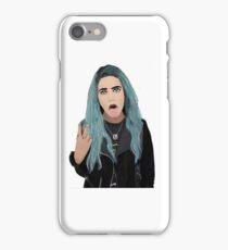 Halsey Illusration iPhone Case/Skin