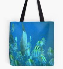 Cancun Marinelife Tote Bag