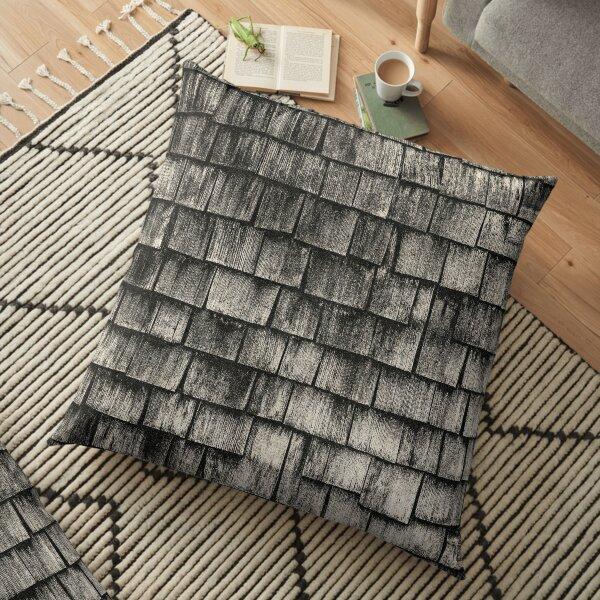 NOIR ABSTRACT / Tiles Floor Pillow