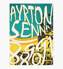 Senna Karting Photographic Print