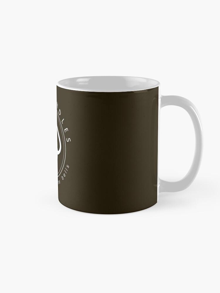 Alternate view of Kettlebell workout love handles Mug