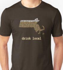 Drink Local - Massachusetts Beer Shirt T-Shirt