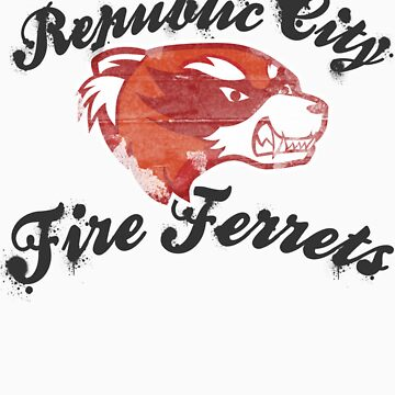 Fire Ferrets Street Shirt by dfragrance