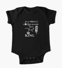 The man with the key is king. Kids Clothes