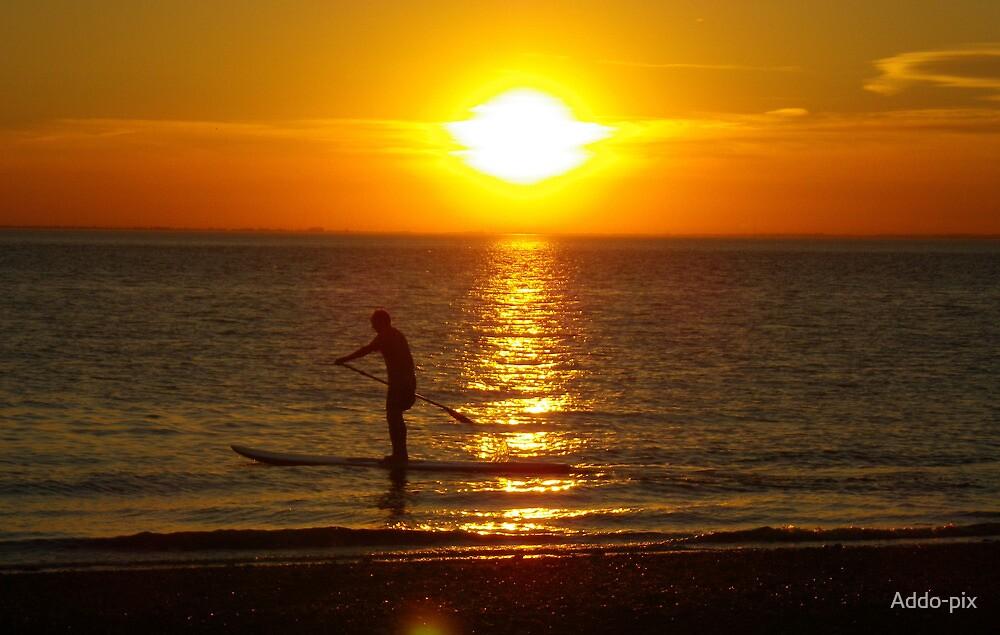 Hunstanton Sunset by Addo-pix