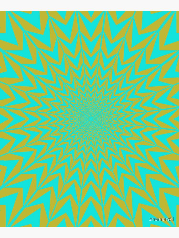 Design, #abstract, #pattern, #illustration, psychedelic by znamenski