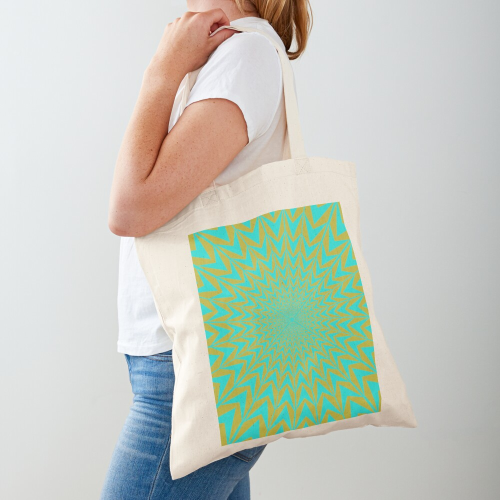Design, #abstract, #pattern, #illustration, psychedelic Tote Bag