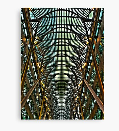 Toronto Tunnel Canvas Print