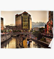 Providence Awaiting WaterFire Poster