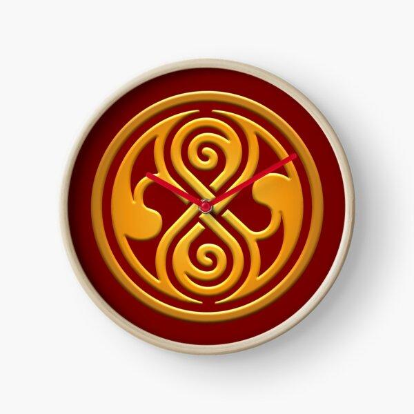 Seal of Rassilon Clock
